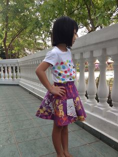 Hula Hook skirt using Dear Stella's Piper collection