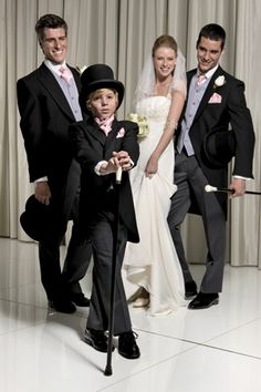 Just For Guys - Formal Wear Black Tails at our Wedding Fair