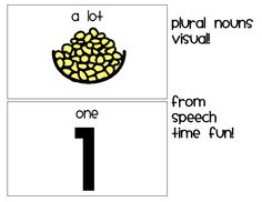 Speech Time Fun: Introducing: Expedition with plurals App Review and Freebie Visual Download!
