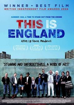 """This Is England (2006)   """"Set in 1983, this semiautobiographical drama from writer-director Shane Meadows follows a lonely 11-year-old boy named Shaun as he grieves over the recent death of his father, who was killed fighting in the Falklands War. When he falls in with a gang of young skinheads, Shaun's pain and anger make him susceptible to carrying out the group's hateful agenda, exposing a dark side of modern Britain not often seen in the movies."""""""