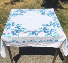 A personal favorite from my Etsy shop https://www.etsy.com/listing/455086928/beautiful-vintage-linen-tablecloth