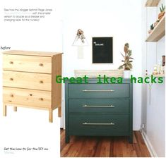 Ikea Closet Hack, Closet Hacks, Ikea Storage, Storage Hacks, Painted Furniture, Home Furniture, Ikea Bedroom, Master Bedroom, Ikea Hacks