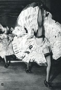 Nico Jesse - French Cancan, Moulin Rouge, Paris 1960's. °