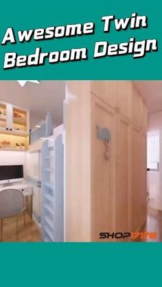 Floor Planner, Home Planner, 3d Interior Design, Interior Design Kitchen, Twin Girl Bedrooms, Floor Plan Layout, 3d Home, Space Saving Furniture, Home Decor Bedroom