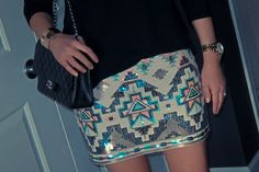 Express aztec skirt. I need this!