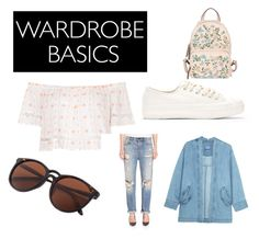 """""""SPRING"""" by alessiac-1 ❤ liked on Polyvore featuring Topshop, Alexander Wang, Steve J & Yoni P and RED Valentino"""