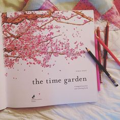 Relive the joy of coloring with new adult coloring books like The Time Garden by Daria Song.