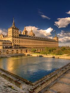 El Escorial monastery, Madrid, Spain