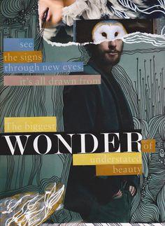 wonder of understated beauty by Piia Myller Collage Artists, Collages, Original Art, Heart, Illustration, Artwork, Design, Montages, Work Of Art