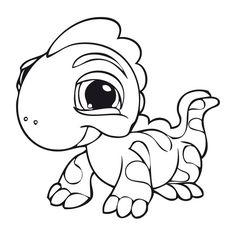 Dibujos para Colorear. Dibujos para Pintar. Dibujos para imprimir y colorear online. Littlest pet shop 12