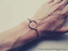 DIY: (men) bracelet - a little gift ;) more: http://trashionbysookie.blogspot.com/