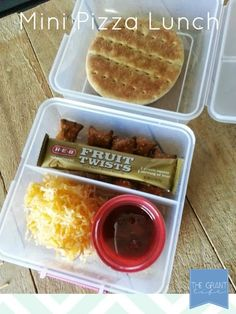 Back to School Lunch Idea: Mini Pizza  For additional resources please visit: http://www.smartappsforspecialneeds.com