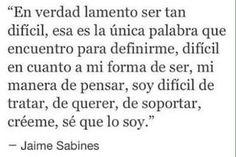 Jaime Sabines - Castellano
