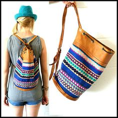 boho tribal bag