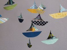 paper boat mobile