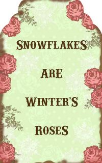"""""""Snowflakes are Winter's Roses"""" I Love Snow, I Love Winter, Winter Snow, Snow Quotes, Winter Quotes, Winter Rose, Winter Magic, Snowflake Quote, Best Friend Poems"""