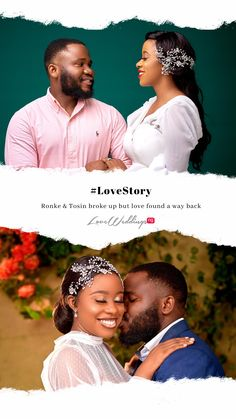Secondary school mates, Ronke & Tosin broke up but love found a way back. Read their #lovestory on LoveWeddingsNG Yoruba Wedding, Secondary School, Breakup, Love Story, Real Weddings, Reading, Movies, Middle School, Breaking Up