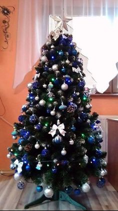 Vánoční stromky ozdobené našimi zákazníky | Svět Stromků Christmas Tree, Holiday Decor, Home Decor, Xmas, Teal Christmas Tree, Decoration Home, Room Decor, Xmas Trees, Christmas Trees