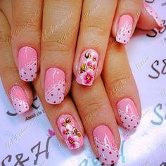 Nail Art Diy, Diy Nails, Cute Nails, Pretty Toes, Pretty Nails, Nail Polish Designs, Nail Art Designs, Spring Nails, Summer Nails