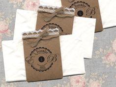 10 x FREUDENTRÄNEN | mit Druck und Taschentuch von Papierwiese auf DaWanda.com