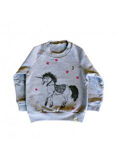 Fleece Raglan Pullover / Unicorn
