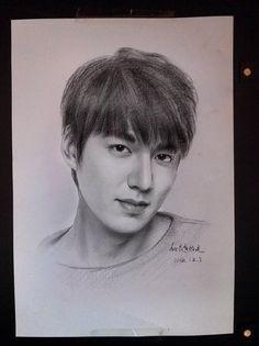 Amazing Fan Art for Lee Min Ho