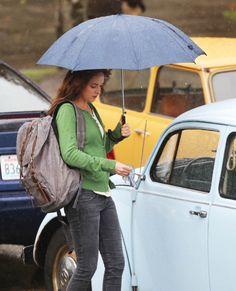 Anastasia Steele / Dakota Johnson / Wanda / volkswagen beetle / Fifty Shades Of Grey