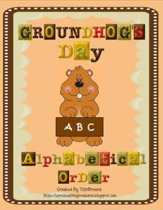 Free- Groundhog Day ABC Order