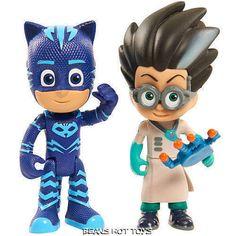 PJ MASKS Duet Sets *Catboy & Romeo Figures Toys #JustPlay