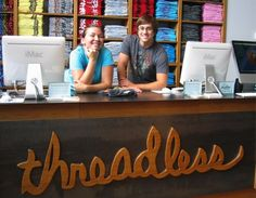 cool retail counter - threadless