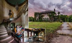 For decades, the Florida mansion of William John Howey, completed in 1927, was a social hub. And yet now, in stark contrast, the impressive 20-bedroom home sits empty.