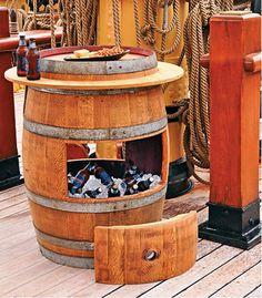 DIY Wine Barrel Cooler   The WHOot
