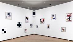 Kazimir Malevich And The Russian Avant-Garde, installation view. Photo: Gert Jan van Rooij