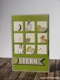 papierkunst: Ostern