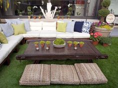 Ikea Outdoor Sectionals; applaro