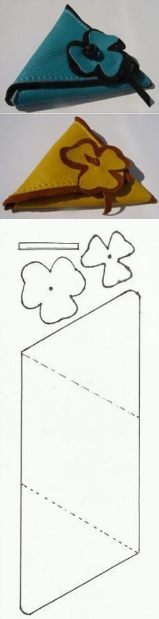 Porta Moedas - Moldes Moda por Medida