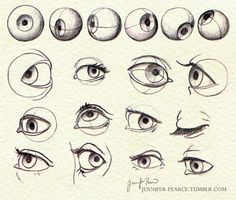 """drawingden: """" Eye structure by Rovanna """" Eye Anatomy, Human Anatomy Drawing, Anatomy Art, Face Drawing Reference, Art Reference, Anatomy Reference, Drawing Sketches, Art Drawings, Drawing Tips"""