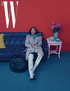 Kim Go Eun for W Korea March 2017. Photographed by Hong Jang Hyun