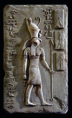 There were many different art forms in Ancient Egypt. The ancient art of Egyptian sculpture evolved to represent the gods, goddesses and Pharaohs. Egyptian Pharaohs, Egyptian Mythology, Egyptian Symbols, Egyptian Art, Egyptian Goddess, Ancient Egypt Art, Old Egypt, Ancient Artifacts, Ancient History