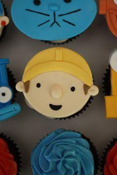 Baker's Cakes: Bob the Builder Cupcakes