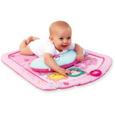 Baby Activity Centers  - Pin it :-) Follow us .. CLICK IMAGE TWICE for our BEST PRICING ... SEE A LARGER SELECTION of  Baby activity play centers  at  http://zbabybaby.com/category/baby-categories/baby-activity-gear/baby-activity-play-centers/  - gift ideas, baby , baby shower gift ideas -   Bright Starts – Prop and Play Mat, Little Blooms « zBabyBaby.com