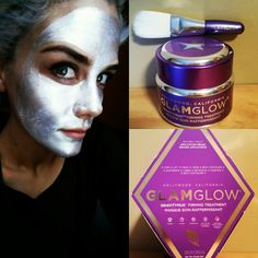 Firming face mask ● GLAMGLOW ● silver is good :)