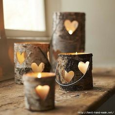 rustic decorating ideas, easy home made gifts, home made decorations,