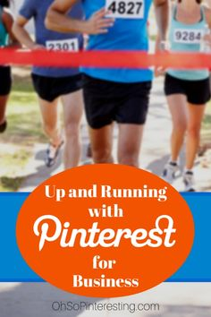 How to get started on Pinterest for a business a Q & A session to help a marathon coach build his business on the Oh So Pinteresting podcast.