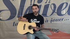 Guitare Folk Electro Acoustique JCE200 SHIVER