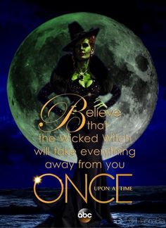 """Believe"" S3B promo poster with Zelena"