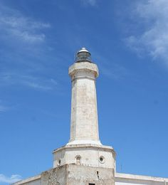 Capo Passero lighthouse, Sicily, Italy, province of Syracuse