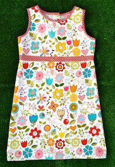 So Easy & So Adorable ! Sunny Tank Dress Tutorial