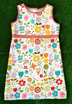 So Easy & So Adorable ! Sunny Tank Dress Tutorial