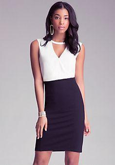 c131655f7f6fc0 Lana Surplice 2-Fer Dress